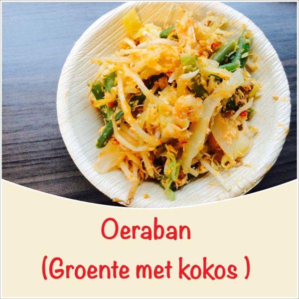 Oeraban - groenten met kokos