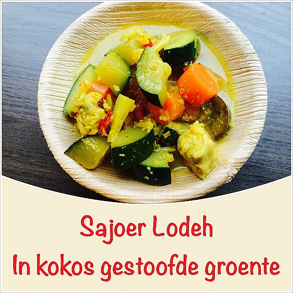Sajoer Lodeh - In Kokos gestoofde groenten