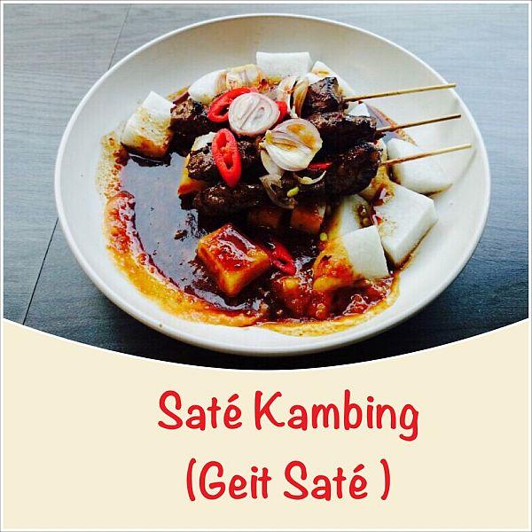 Sate Kambing - Sate van Geitenvlees