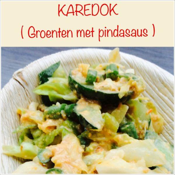 Karedok - Groenten met Pindasaus